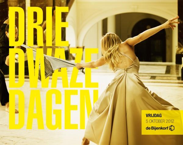 Cover photograph nr. 2 of De Bijenkorf Drie Dwaze Dagen 2012.